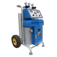 The system for foaming and spraying polyurethane: Wintermann 350