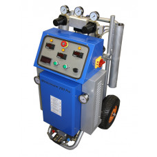 The system for foaming and spraying polyurethane: Wintermann 200